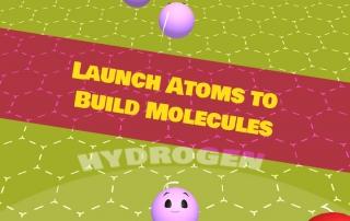 My Molecularium Screenshot - Launching Atoms