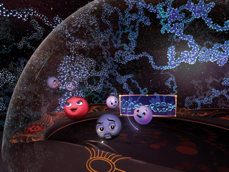 Molecules to the MAX scene 13
