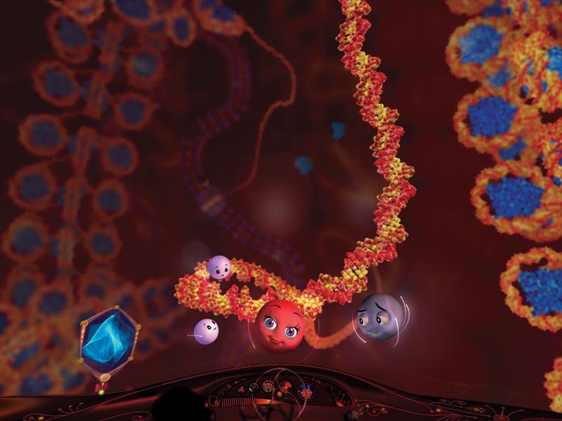Molecules to the MAX scene 5