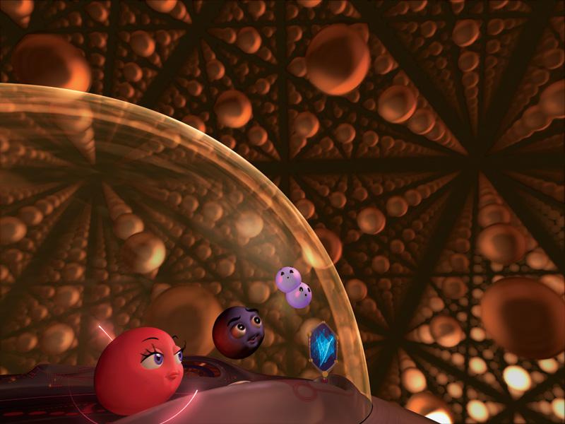 Molecules to the MAX scene 9