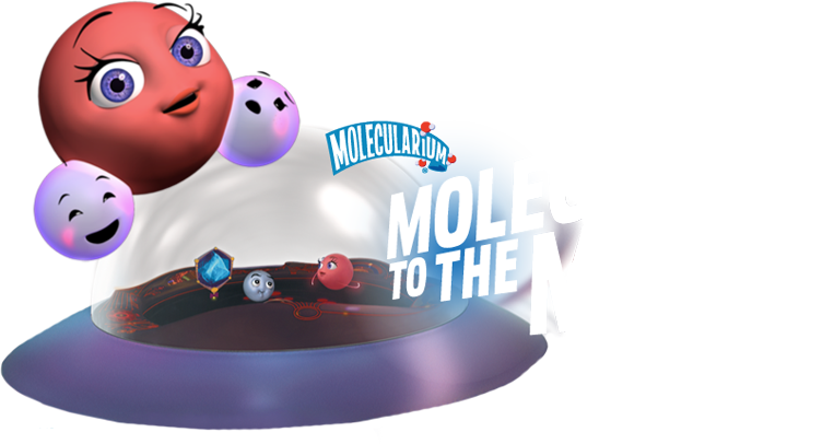 Molecules to the max characters