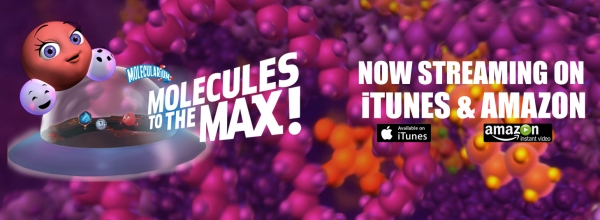 Molecules to the Max is now streaming on itunes and amazon!